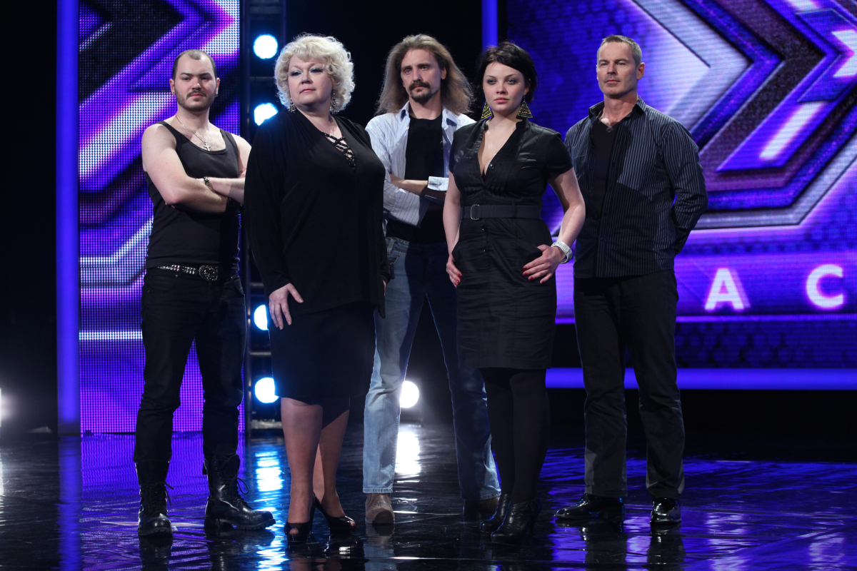 Grupa 25 +: William Malcolm, Małgorzata Szczepańska-Stankiewicz, Gienek Loska, Marta Podulka i Wojciech Strzelecki